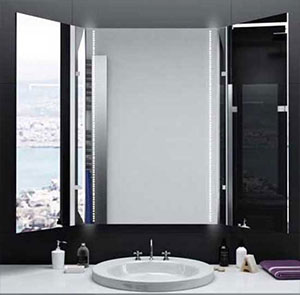LED Badspiegel und Spiegelschrank nach Maß kaufen | Glaswerk24