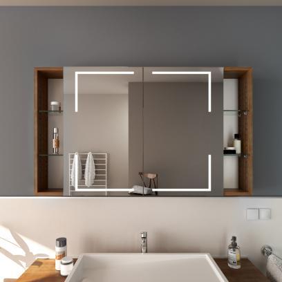 Spiegelschrank Mit Fachern Fur Ihr Bad Glaswerk24