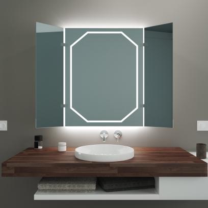 Badspiegel mit Radio und Extra Funktionen | Glaswerk24