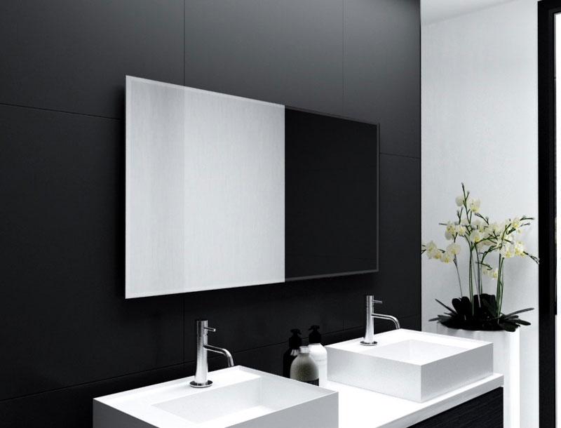 badspiegel mit ablage amazing spiegel mit seitlicher. Black Bedroom Furniture Sets. Home Design Ideas
