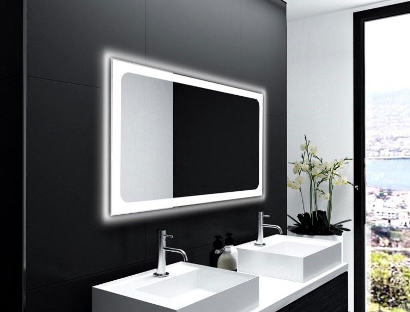 Badspiegel Trapani mit LED Beleuchtung für Ihr Bad | Glaswerk24