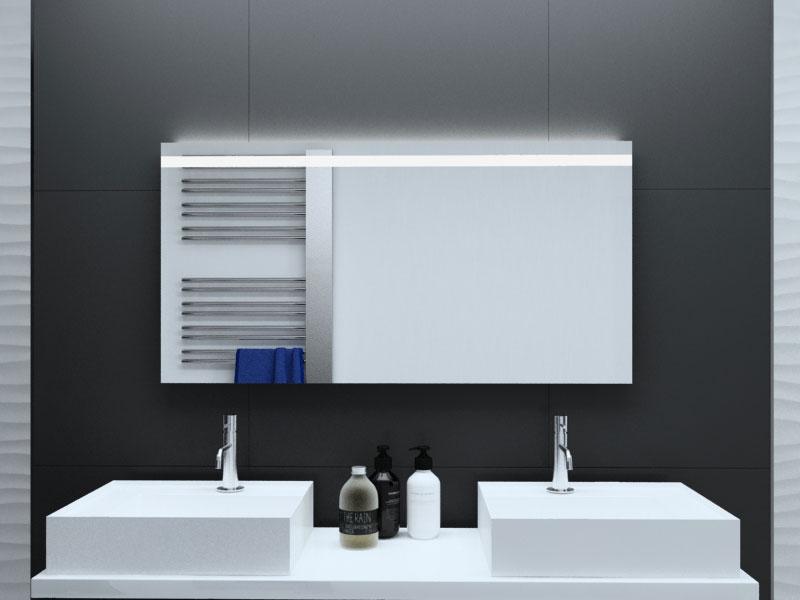 Badspiegel Antuan Mit Led Beleuchtung Glaswerk24