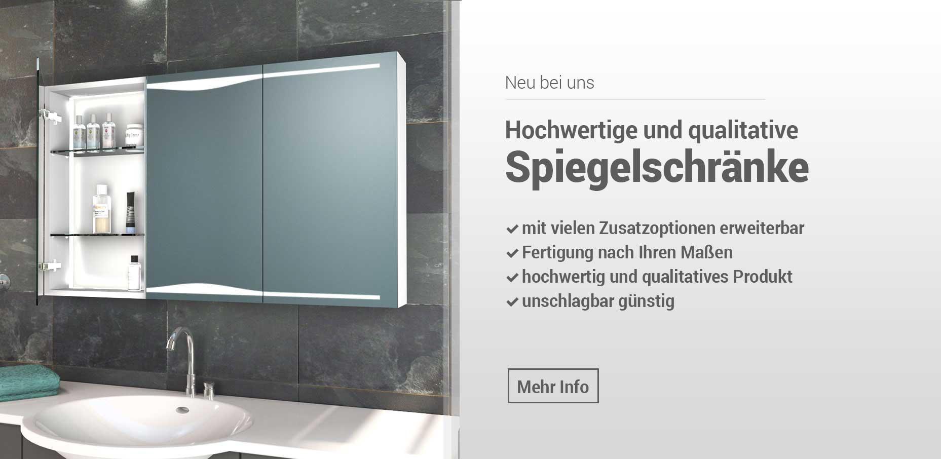Badezimmerspiegel Beleuchtet Glaswerk24